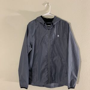 Grey Hurley Windbreaker!!
